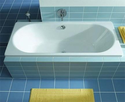 vana smaltovan kaldewei tvarovan vaio duo 103 180x80x43 cm b l perfecto design. Black Bedroom Furniture Sets. Home Design Ideas